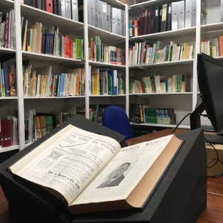 The Hockey Museum library | Courtesy of The Hockey Museum