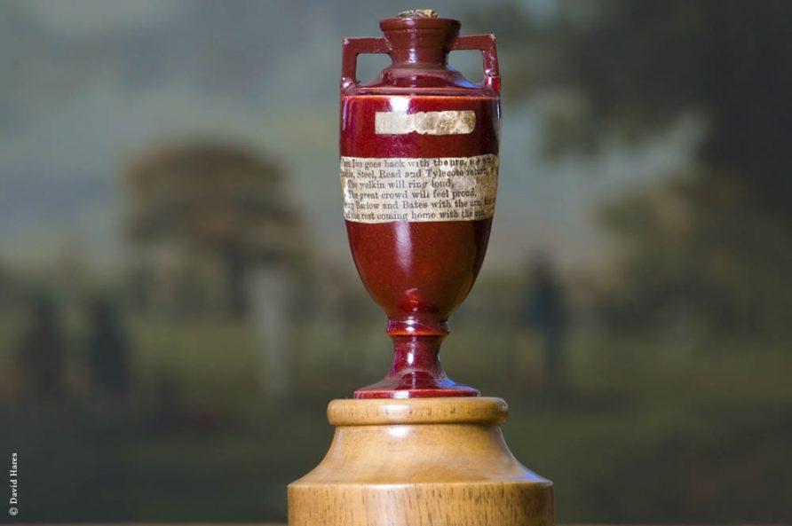 MCC Museum Image of the Ashes Urn | David Hares