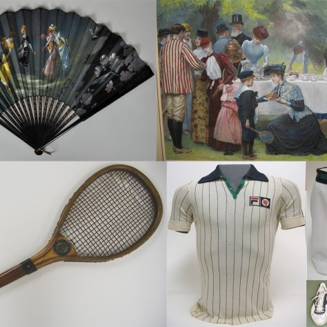 A sample of objects in the Wimbledon Lawn Tennis Museum collection | Wimbledon Lawn Tennis Museum