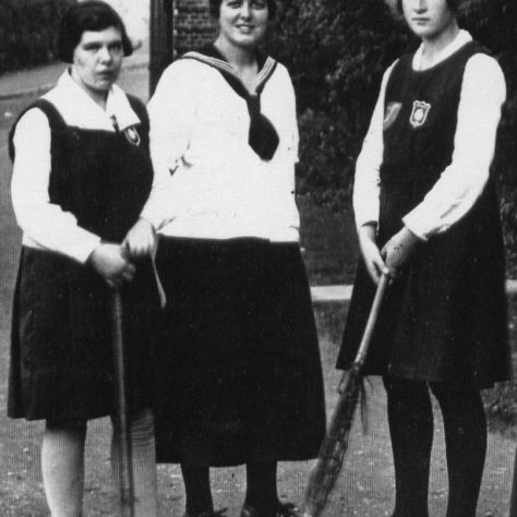 St Hilda's hockey, boat & lacrosse captains 1919 | St Hilda's College Archive