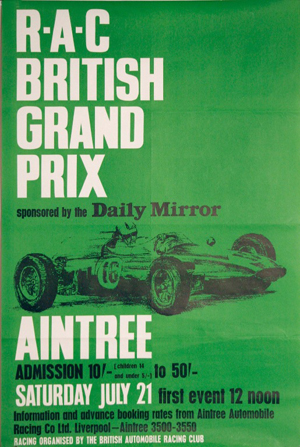 1962 Grand Prix Programme. | Courtesy of National Museums, Liverpool