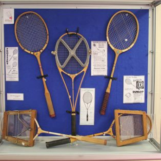 1930 to 1950 Badminton Rackets