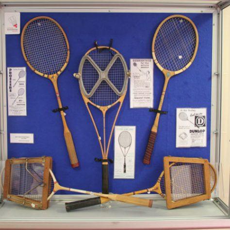 Variety of badminton rackets | National Badminton Museum