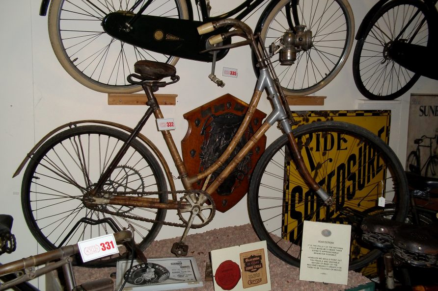 Bamboo Cycle. | Courtesy of the National Cycle Museum
