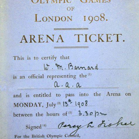International Olympiad Arena Ticket