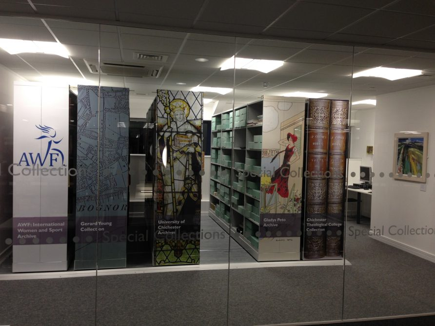 Special Collections Room, University of Chichester | Anita White Foundation