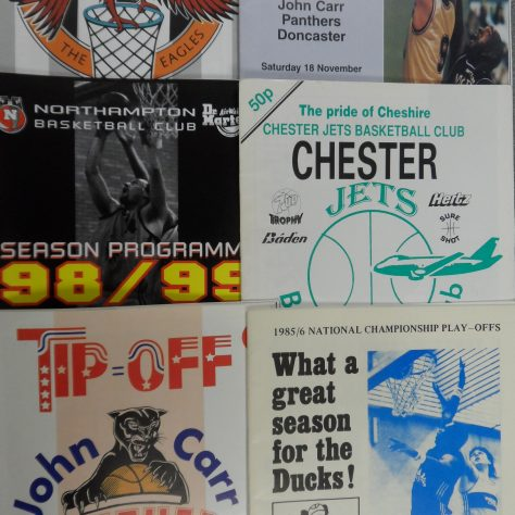 Match Programmes | Courtesy of the University of Worcester Research Collections - Basketball Heritage Collection