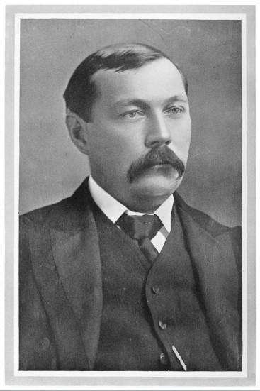 Arthur Conan Doyle, undated.   Image courtesy of Wellcome Images