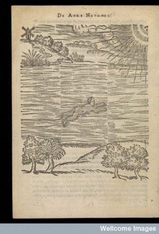 1587 De arte natandi libri duo. Published: 1587. | Image courtesy of Wellcome Images