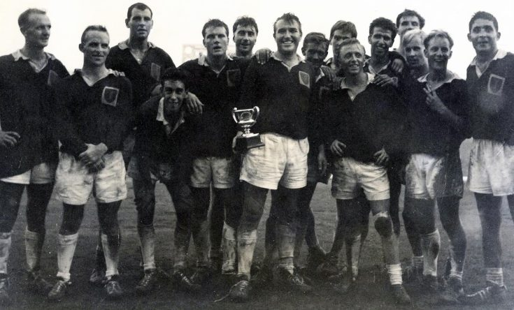 A Rugby cup win, 1966. | Image courtesy of Anglesey Archives