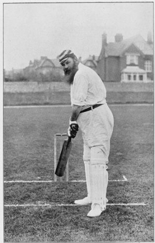 W.G. Grace in middle age. | Image courtesy of Wellcome Images