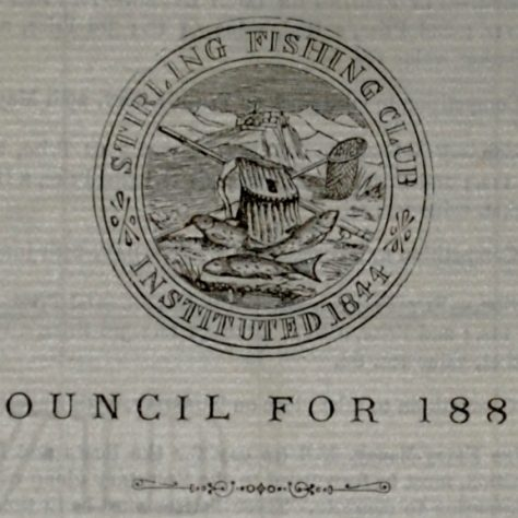 Stirling Fishing Club Logo | Image courtesy of Stirling Archives.