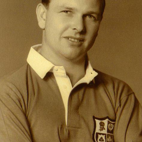 Bleddyn Williams. | Image courtesy of Glamorgan Archives