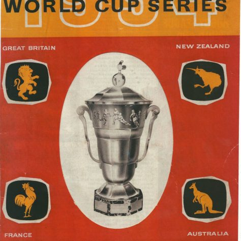 1954 Rugby League World Cup brochure   RFL