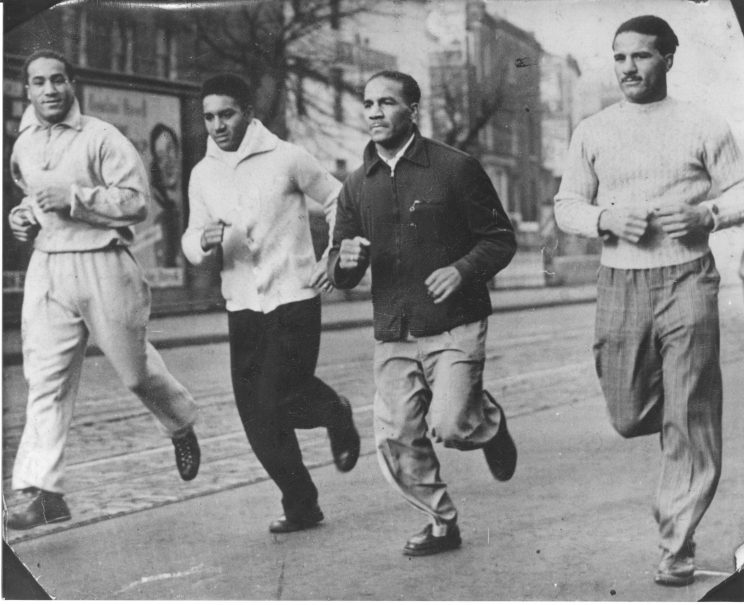 Buxton brothers training in Brixton. | Originally published on Our Watford History