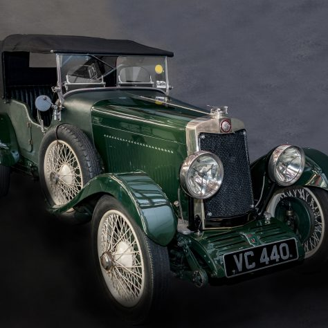 1929 Lea Francis Hyper driven by Kenneth Peacock and Co-driven by Sammy Newsome in the Le Mans 24 hour race. | Image courtesy of Coventry Transport Museum