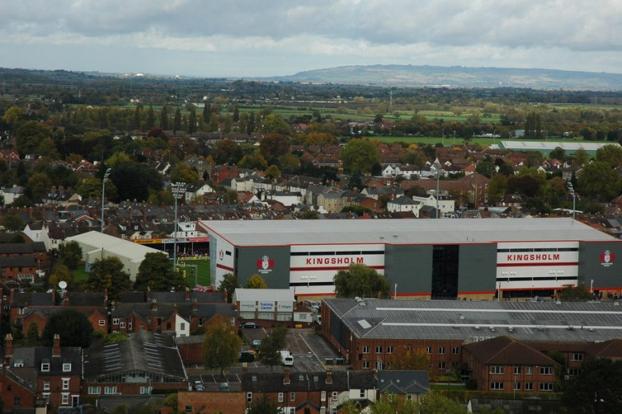 Kingsholm as it is today, far different to 1947. | Image by Philip Halling, originally uploaded to Wikipedia