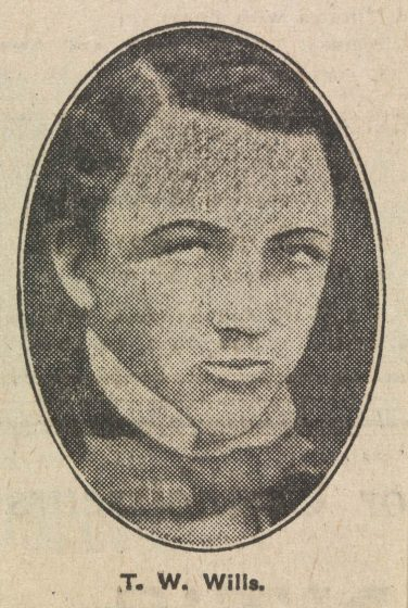 Portrait of T. W. Wills | Courtesy of Greg de Moore