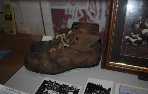 Football Boots Worn by John Aldborough