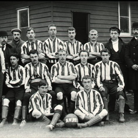 Bexley Heath Football Club team photo 1900 | Image courtesy of Bexley Local Studies and Archives