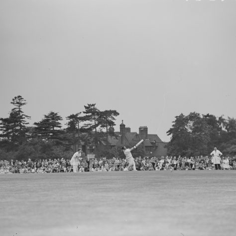 England Men v Women at cricket, Sidcup 1962 | Image courtesy of Bexley Local Studies and Archives
