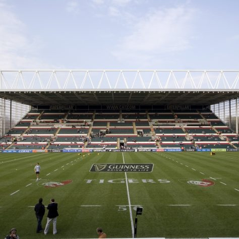 New stand at Leicester Tigers' ground, September 2009. | By Parrot of Doom (Own work) [CC BY-SA 3.0], via Wikimedia Commons