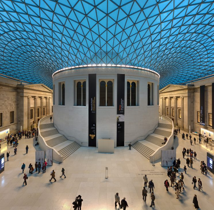 The Great Court of the British Museum in London. | Image by David Iliff (CC BY-SA 3.0)