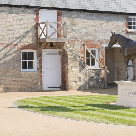 Kings Yard, Newmarket.   Image courtesy of the National Heritage Centre for Horseracing and Sporting Art