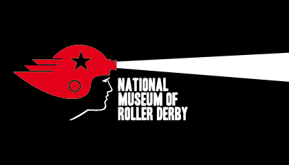 National Museum of Roller Derby logo. | National Museum of Roller Derby