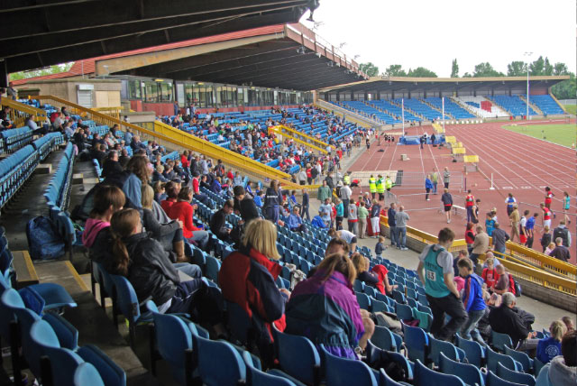 The Alexander Stadium, traditionally the home of Birmingham's Athletics. | cc-by-sa/2.0 - © Stephen McKay - geograph.org.uk/p/1367947