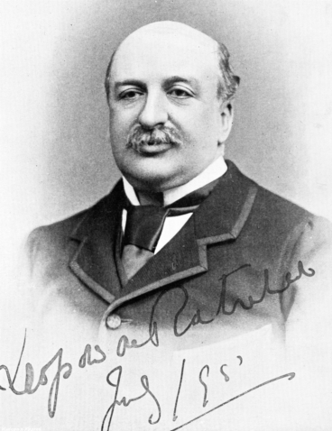 Leopold de Rothschild.   Image courtesy of National Heritage Centre for Horseracing & Sporting Art