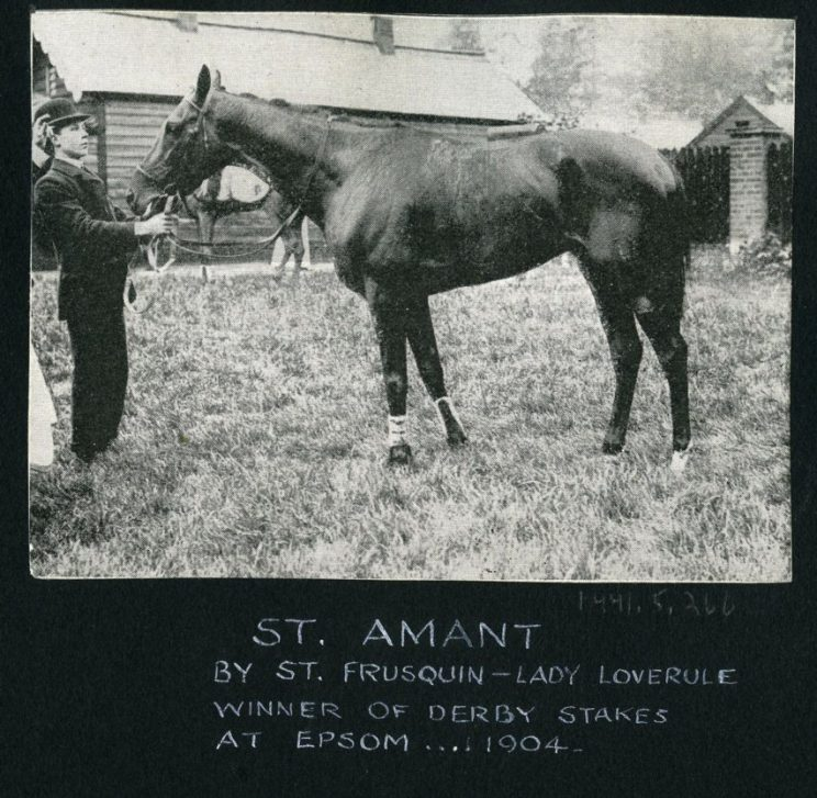 St Amant. | Image courtesy of National Heritage Centre for Horseracing & Sporting Art