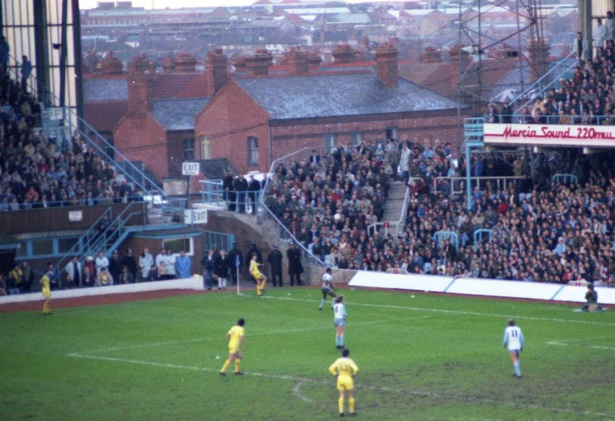 Coventry's sporting heritage includes an FA Cup win for its football team in 1987. They are seen here at their old football ground, Highfield Road. | cc-by-sa/2.0 - © Steve Daniels - geograph.org.uk/p/2008790
