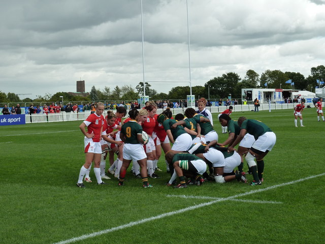 Women's Rugby World Cup 2010: Wales v South Africa. | cc-by-sa/2.0 - © Basher Eyre - geograph.org.uk/p/2030132