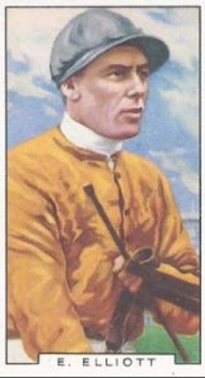 Charlie Elliott | Image courtesy of National Heritage Centre for Horseracing & Sporting Art