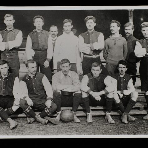 The first HUC football team, 1900 | Southampton University Photos LF 781.7