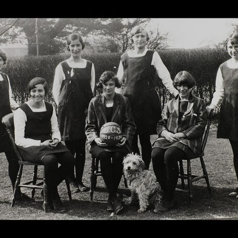 Netball team, 1928-9 | Southampton University, MS1/7/291/22/2/62