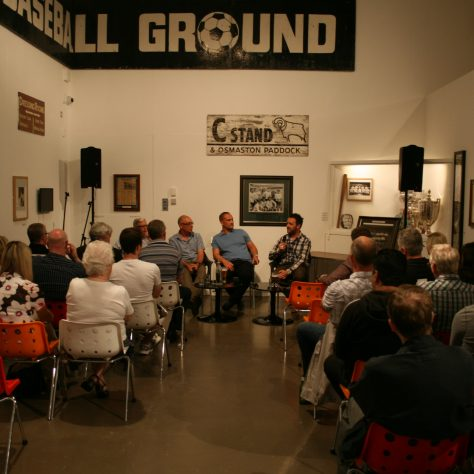 Panel discussion with guests | The Derby County Collection