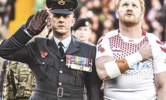 Damian Clayton MBE: The Fight for Rugby League in the RAF