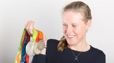 Frances Houghton MBE holds three silver medals | Nick Middleton Photography