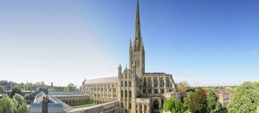 Norwich Cathedral exterior