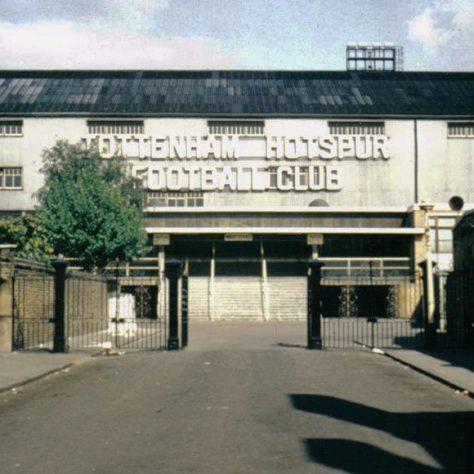 White Hart Lane main entrance, 1960s | Exposure