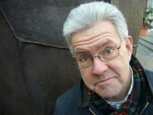 Portrait of Ian McMillan | Adrian Mealing