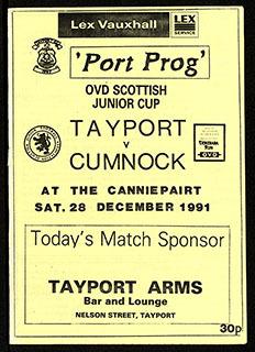 Tayport F.C. Archive