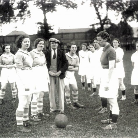 A wartime women's football match in Inverness | Am Baile