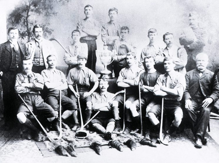 Shinty Memorabilia and Material Culture at the Highland Folk Museum | Highland Folk Museum