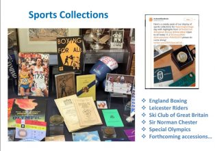 DMU Sports Collections Presentation, Sporting Heritage Summit 2019 | Courtesy of DeMontfort University