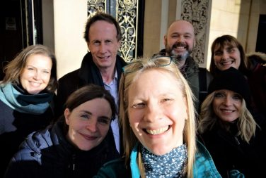 Selfie of the Sporting Heritage Project Team | Sporting Heritage CIC