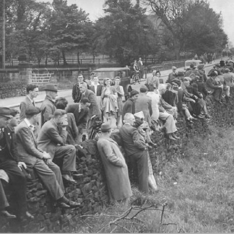 Crowd watching a cricket match | Menston Cricket Club