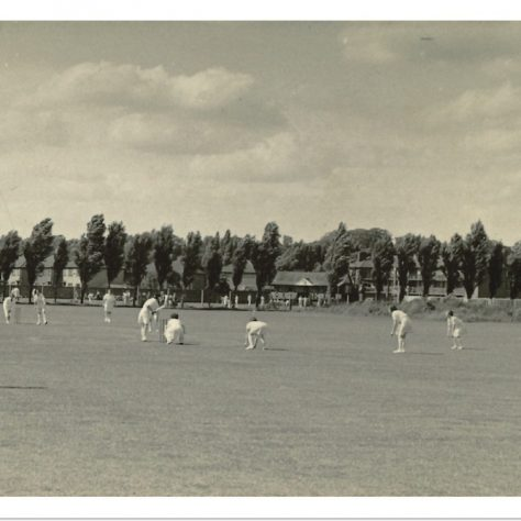 Civil Service Ladies Cricket Team on the cricket field. | Civil Service Heritage
